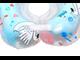 Круг музыкальный на шею для купания малышей с рождения Roxy kids Flipper Лебединое озеро