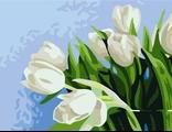 тюльпаны 30х40