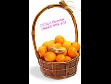 Корзинка сочных мандаринов