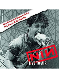 Nine Inch Nails - Live To Air 2-LP SPLATTER