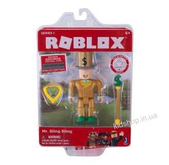 Фигурка ROBLOX Mr. Bling bling. Оригинал