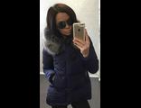 Женская весенняя куртка синяя 002-06