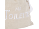 Мешок для ванной 200560 LAUNDRY BAG LES BAINS WHITE 27X32CM LINEN+COTTON