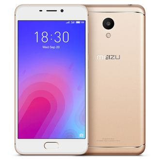 Смартфон Meizu m6 32gb Gold