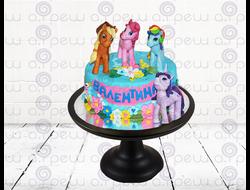 """Торт № 7 """"Литл Пони"""" (Детские торты)"""