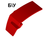 ! Б/У - Technic, Panel Car Mudguard Left, Red (61071 / 6074879) - Б/У