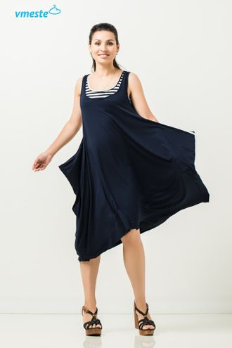 "Blue  dress ""Breeze"""