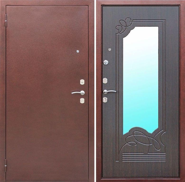 двери металлические венга