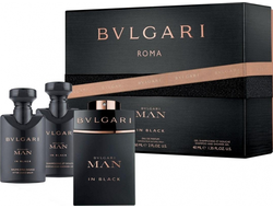 Bvlgari Bvlgari Man In Black Мужской набор
