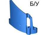 ! Б/У - Technic, Panel Fairing #22 Large Short, Small Hole, Side A, Blue (44352 / 4183105 / 4254624) - Б/У