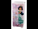 Детский комод для девочки плетеный принцесса Жасмин Дисней