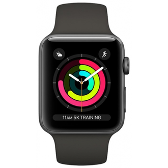 Apple Watch Series 3, 42mm Grey/Black