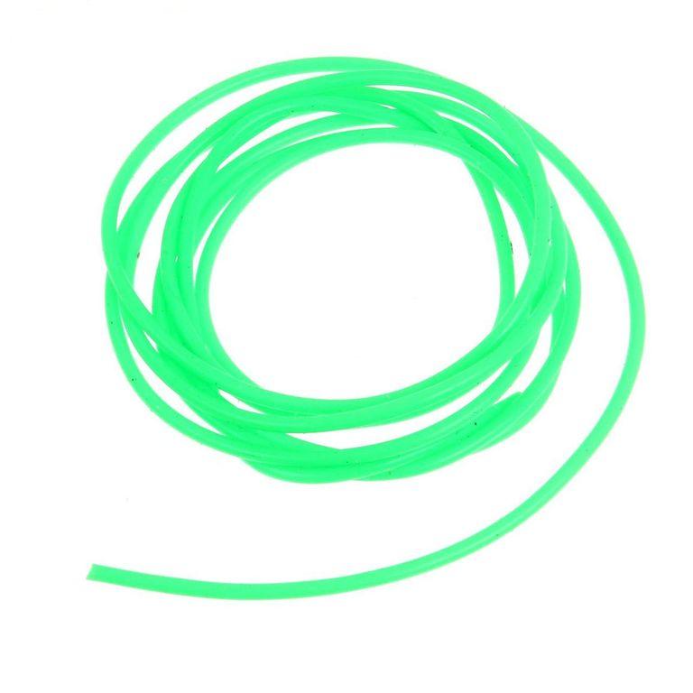 Кембрик Три Кита d.0,8*1,5 флюоресцентный, зелёный, 1 метр