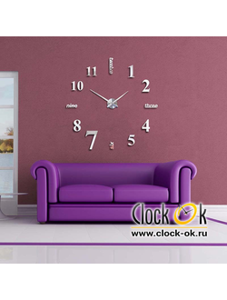Настенные 3D часы Hi Style S