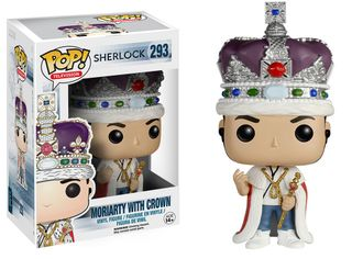 Funko Pop! Sherlock - Moriarty with crown | Funko Pop! Шерлок - Мориарти в короне