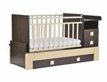 Кровать-трансформер  534038-5 венге-береза