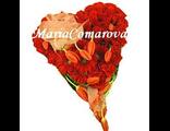 Композиция в висде сердца из цветов - В сердце любовь