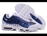 Кроссовки Nike Air Max 95 бело-синие