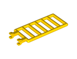 Bar 7 x 3 with Double Clips (Ladder), Yellow (6020 / 4240376 / 6070784)