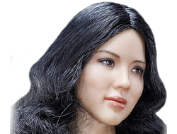 Женская голова (скульпт) 1/6  Asian  Headsculpt + VC 3.0 Female FX04 b head - VERYCOOL