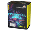 "Фейерверк COLORFULL WORLD (0,8""x12) GW218-93"