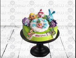 """Торт № 2 """"Смешарики"""" (Детские торты)"""