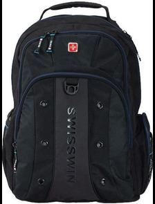 Рюкзак SWISSWIN SW BC007 Black / Чёрный