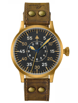 купить Часы мужские LACO DORTMUND BRONZE HANDWINDING 45 MM AUTOMATIC 862088