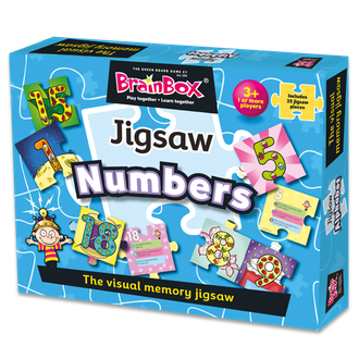 BrainBox Numbers Jigsaw