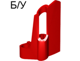 ! Б/У - Technic, Panel Fairing #24 Small Short, Small Hole, Side B, Red (47712 / 4218893) - Б/У