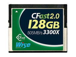 Флешкарта Wise CFast 2.0 3300X - 128GB(505 MB/s)