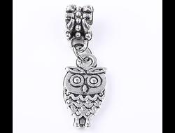 Подвеска-шарм Owl silver