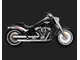 16722 Vance&Hines ELIMINATOR 300 CHROME SATIN