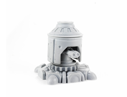 Armored turret (unpainted)