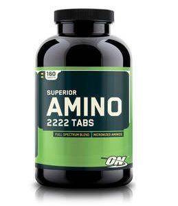 Superior Amino 2222 Tabs Optimum Nutrition 160 таб