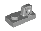 Hinge Plate 1 x 2 Locking with 1 Finger On Top, Light Bluish Gray (30383 / 4219913)