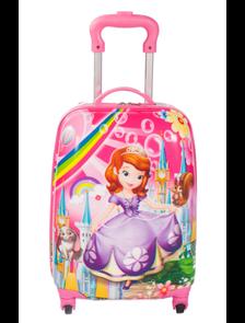 Детский чемодан на 4 колесах Принцесса София Дисней / Princess Sofia Disney