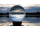 Акриловый шар, Фушиги, фишугу, шарик, прозрачный, fishugu, ball, жонглировать, фокус, прозрачный, 70