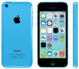 Купить iPhone 5C 16GB Blue в СПб