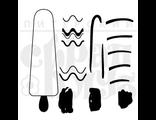 """ФП штамп """"Мороженое на палочке"""""""