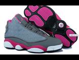 NIKE AIR JORDAN черно-розовые женские (36-41)