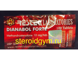 Метан - Methandrostenalone 10mg/100табл. Рестек