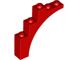 Brick, Arch 1 x 5 x 4 - Continuous Bow, Red (2339 / 4185798 / 4519935 / 4629997)