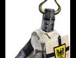 ПРЕДЗАКАЗ Тевтонский рыцарь - знаменосец - коллекционная фигурка 1/6 Teutonic Knight: Noble Knight Banner Holder (Item No. ACI 25A) - ACI Toys
