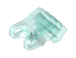 Bionicle Head Connector Block Eye/Brain Stalk  Toa Okoto , Trans-Light Blue (19050 / 6102638)