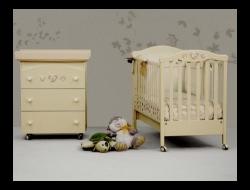 Кроватки для новорожденных, комоды и матрасы