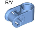 ! Б/У - Technic, Axle and Pin Connector Perpendicular, Medium Blue (6536 / 4172101) - Б/У