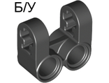 ! Б/У - Technic, Axle and Pin Connector Perpendicular Double Split, Black (41678 / 4162857) - Б/У