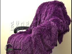 Бамбуковый плед экстра-класса Фиолетовый 160х210