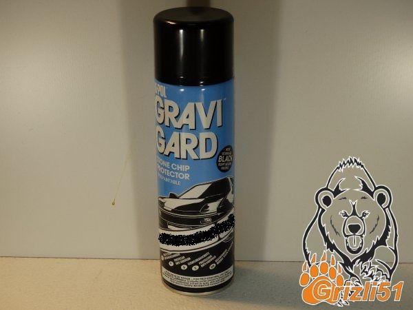 U-POL Gravi-Guard HS чёрный 500мл. (аэрозоль)